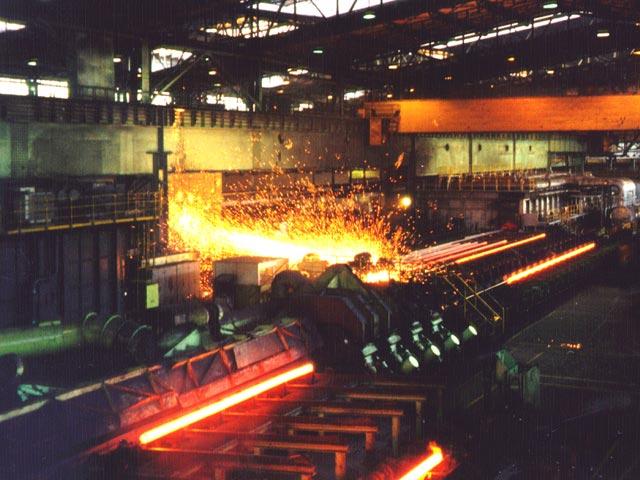 خط توليد فولاد